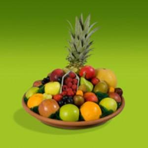 Hele fijne fruitmand