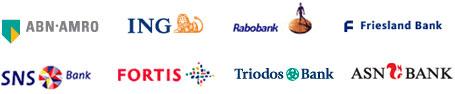 Bank logos iDEAL